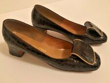 Customcraft Alligator Shoes Bullock's Pasadena Victorian Room Size 8