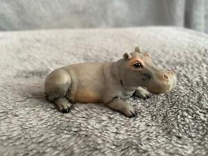 Castagna Tierfigur Nilpferd, Flusspferd, Hippopotamus, klein, Deko Figur