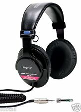SONY MDR-V6 STUDIO MONITOR SERIES HEADPHONES New and Sealed