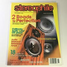 Stereophile Magazine November 1998 - California Audio Labs CD Player / Newsstand