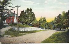 Gorham Maine ME High Street Looking East - Vintage Postcard