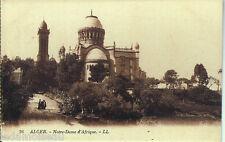 ALGERIE: Carte postale ALGER, Notre-Dame d'Afrique, non écrite au revers.