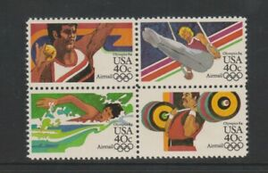 USA - 1983, Air. Olympic Games, Los Angeles, 1st series set - m/m - SG A2022/5