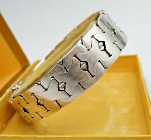 Schweres 835 Silber Designer Armband