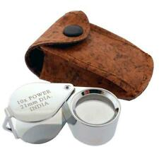 10x Jeweler's Chrome Loupe, 21 Mm