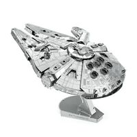Metal Earth ICONX Star Wars Millennium Falcon Laser Cut DIY Model Hobby Kit
