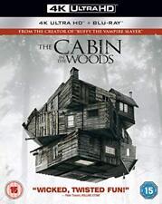 The Cabin in the Woods 4K [Blu-ray] [2018] [DVD][Region 2]