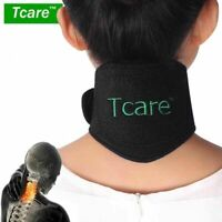 Neck Brace Pad Magnetic Therapy Tourmaline Belt Support Self-Heating Tourmaline
