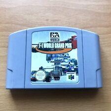 F1 WORLD GRAND PRIX  -  Nintendo N64 (PAL UK) CART ONLY