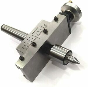 Taper Turning Attachment with REVOLVING Live Center 2MT-UK Fulfilled