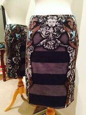 Prada Spring 2011 Monkeys & Cherubs stripe skirt IT 42, US 6, AU 10  US$180.50