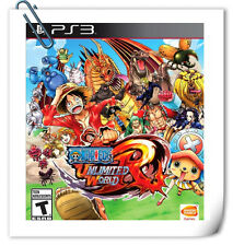 PS3 ONE PIECE UNLIMITED WORLD RED Playstation sony Action Bandai Games