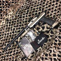 NEW Azodin KPC Pump Tournament Paintball Gun Marker - Tan/Black