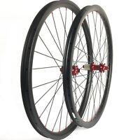 29ER carbon mountain bike wheels MTB wheels 33mm width thru axle Asymmetric rim