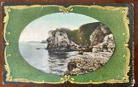 The Giant's Head Giant's Causeway Postcard Co Antrim Northern Ireland 1909