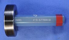4-12 Buttress 2B Thread Plug Gage - No-G0 ONLY - 4.0 x 12 T.P.I. - Vermont Gage