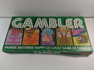 1977 'Gambler' Board Game by Parker Brothers - Complete