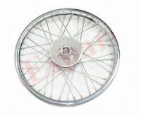 """40 Spoke Front Disc Brake /& Rear Wheel Rim 19/"""" For Royal Enfield Electra Std ECs"""