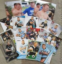 Lot Cronulla Sutherland Sharks Modern (1970-Now) NRL & Rugby League Trading Cards
