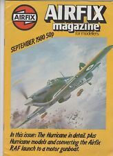 Airfix Magazine  Modellers  Sept 1980 Hurricane 2b  AE-D Anti Submarine Boat
