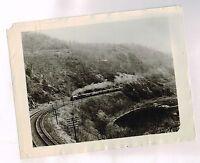 vintage Railroad Steam Engine Passenger Train Photo:New York Central ? @ Hudson?