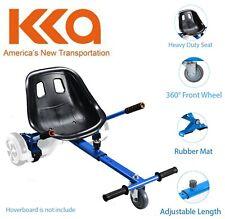 "Blue Adjustable Hover Go Kart Cart Fits 6.5""//8""//10"" for Hoverboard Accessory"