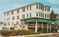 1939+ Postcard The Georgian Hotel Ocean City New Jersey Exterior View