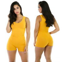 Candy Color Shorts Rompers Women Bandage Sexy Bodycon One Piece Short Jumpsuit