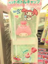DAISO JAPAN  MY MELODY PET Bottle Cap with Straw Sanrio  Kawaii F/S
