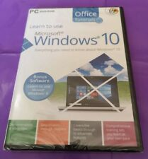 Learn To Use Windows 10 Dvd. New Sealed GSP Tutorial Software. Free Postage!