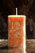 200hr MANDARIN & CLOVE Spicy, Healthy & Natural Essential Oil Scented CANDLE