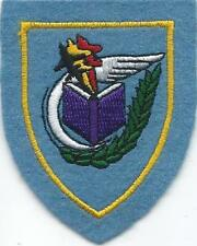PATCH BELGIAN AIR FORCE   BASIC FLYING TRAINING SCHOOL  ( PURPLE BOOK )