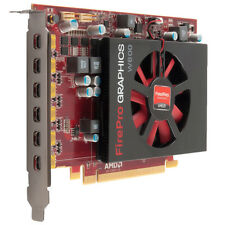 ATI FIREPRO W600 2GB PCI-E 6 MONITOR MINI DP VIDEO GRAPHICS CARD