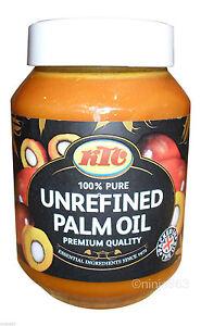 KTC 100% Unrefined Palm Oil 500 ml