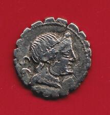 NAEVIA.REPUBLICA DE ROMA.AÑO 79 A.C.DENARIO DE PLATA.