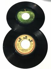 2 George Harrison 45 Record Isn't It A Pity - Crackerbox Palace - Apple Records