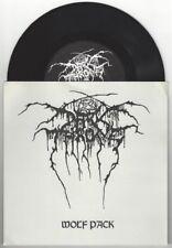 "Darkthrone ""Wolf Pack"" 7"" OOP Mayhem Marduk Satryicon Immortal Emperor"