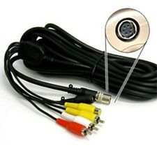 Magic Sing Mic 6 Pin A/V Cable Cord for Sil/Blk Models