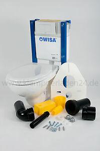 Wisa XT83cm WC-Set,WC Element WC Vorwandelement+Wand -WC+WC-Sitz Absenkautomatik