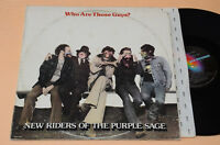 NEW RIDERS:LP-WHO ARE THOSE GUYS?-1°ST PROG 1977 AUDIOFILI TOP EX++