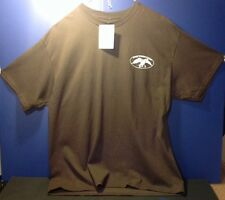 NWT XL NEW DUCK COMMANDER UNCLE SI BROWN HEY TEA CUP T-SHIRT SIZE X-LARGE