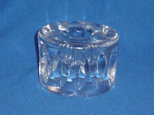 Orrefors Crystal Candle Holder Signed