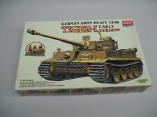 Vintage 1997 Academy German Army Tiger-1 Model Kit Scale 1/35 Untouched in Bags