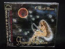 CONCERTO MOON Fragments Of The Moon JAPAN CD Double Dealer Animetal Razing Steel