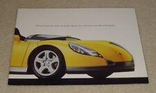 Renault Spider Sports Car Brochure 1995