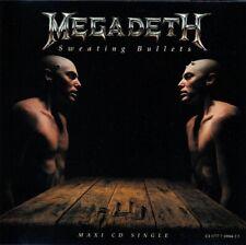 Sweating Bullets; Megadeth 1992 CD Single, Thrash Metal, Live, Countdown To Exti