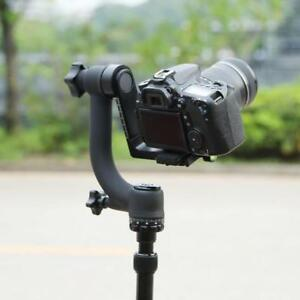 360 Swivel  Panoramic Gimbal Pan Head Ball Mount for Telephoto Lens DSLR Camera