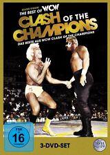 WWE The Best Of WCW Clash Of The Champions 3x DVD DEUTSCHE VERKAUFSVERSION