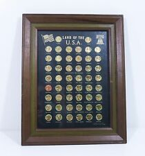 Lincoln Cent Collection Framed Collector Quality Framed Set