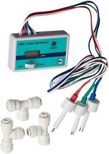 HM Digital Triple Inline RO/DI TDS Monitor with 1/4 inch T-Fittings